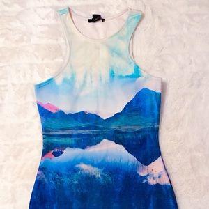 Nature Print Dress